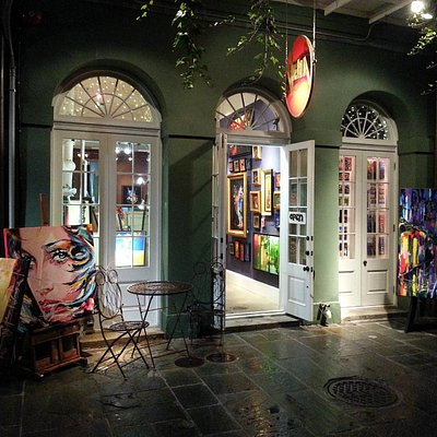 Front View of Vena Gallery