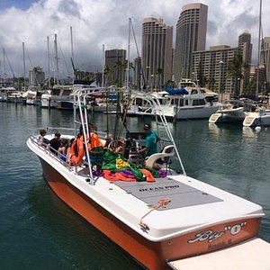 Paradise Watersports Custom Built Parasail Boat