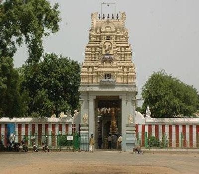 MAIN ENTRANCE OF THE TEMPLE