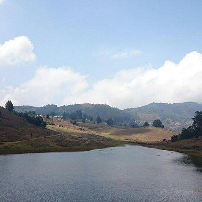 Manavanur lake..