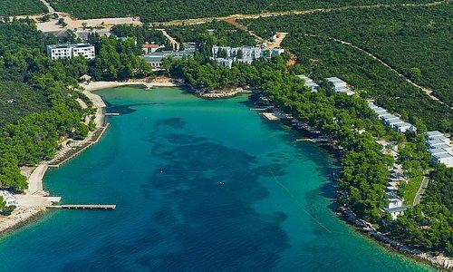 Crvena Luka Hotel & Resort Aerial sky view