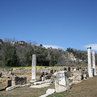 The ancient city from the South Gate