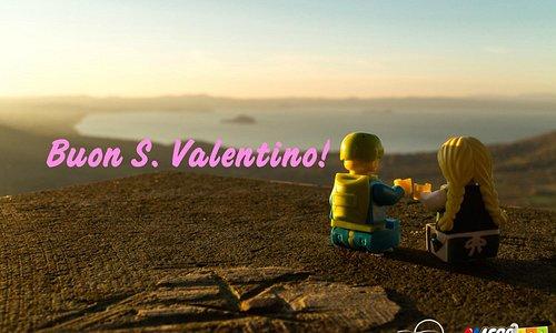 Auguri a tutti gli innamorati dalla nostra meravigliosa cornice naturale: il Lago di Bolsena !!!