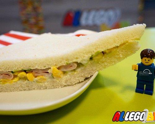 Pausa veloce ma gustosa? Tramezzino Mimosa!!!