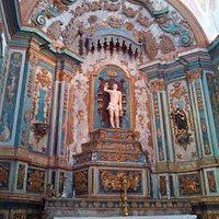 chapel of San Sebastian altar