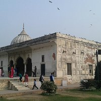 The Khas Mahal as it looks from outside today.