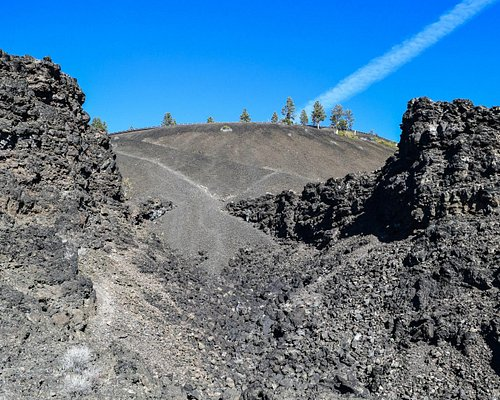 Lava Butte exploded through here