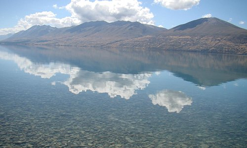Gorgeous reflections on pristine water