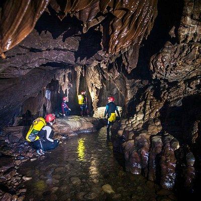 Descenso Cueva de Valporquero León