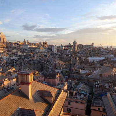 Genova, a view from the top