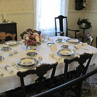 Ellen White's dining room table (facsimile)