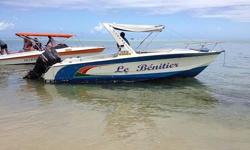 Notre bateau pour l'excursion