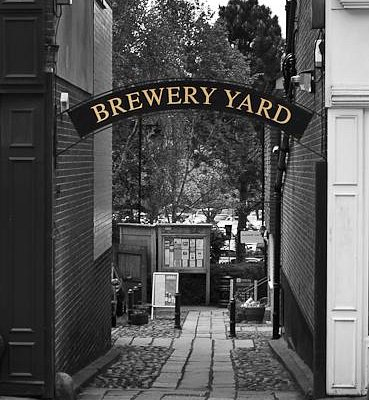 Brewery Yard entrance