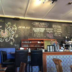 Great menu and specials on the chalkboard