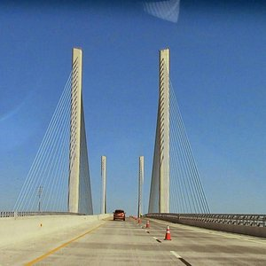 Bridge on coastal highway 1