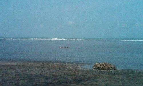 See the beach