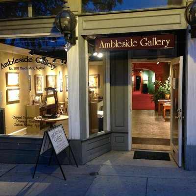 Front of Ambleside Gallery
