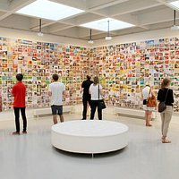 David Wills exhibition Wunderwall in 2014
