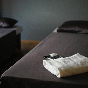 Inside aromatherapy room