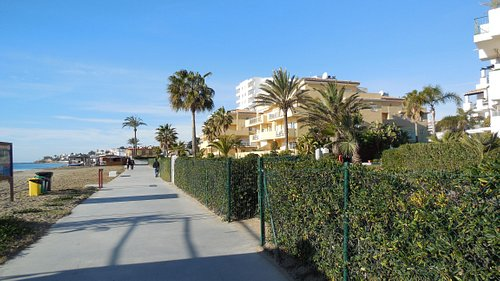 Boardwalk at La Cala de Mijas