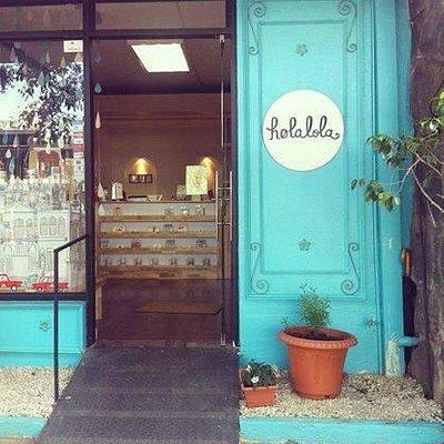 Our shop's entrance