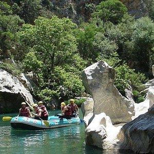 Rafting in Lousios