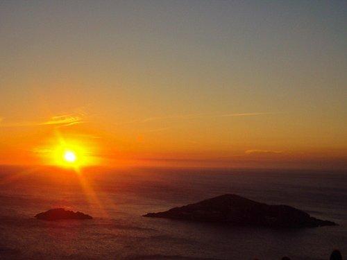 Pôr-do-sol no Pontal do Atalaia