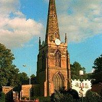 St Mary's Church, Hinckley from Church Walk
