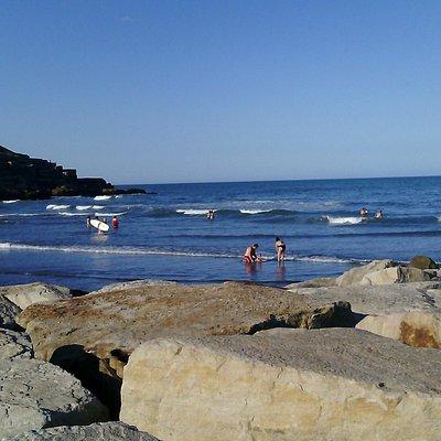 Un de las vistas de la playa