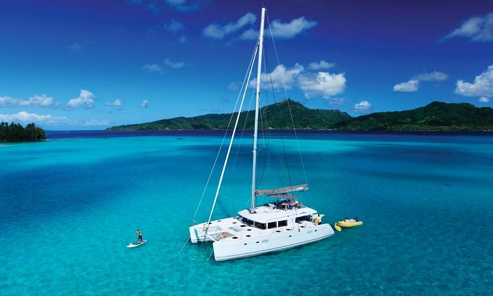 Sailing in Raiatea