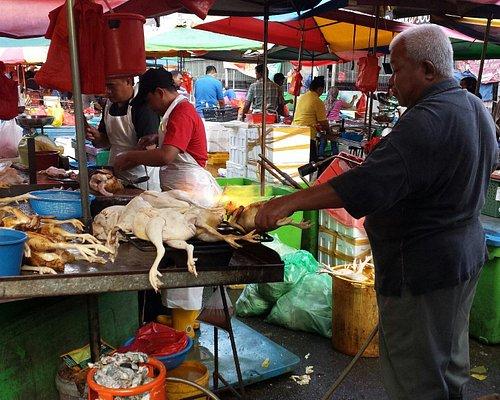 Chicken stall