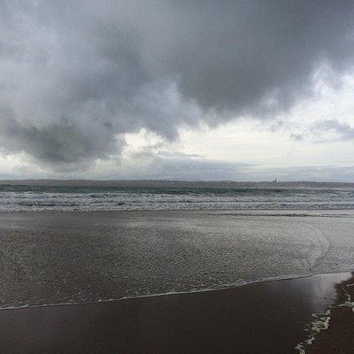 The vista looking towards Tramore