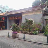 The Tin Hau Temple in Taipa