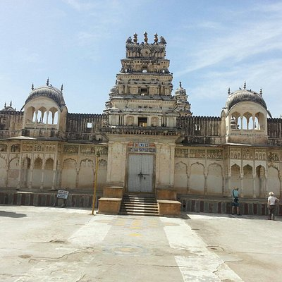Old Rangji Temple built in 1844 AD. A unique synthesis of Dravidian and Rajasthani style of arch
