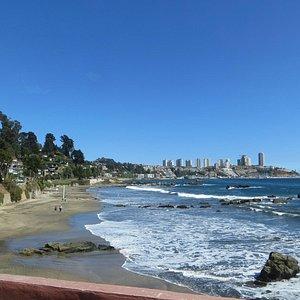 coastline between Concon & Vina del Mar