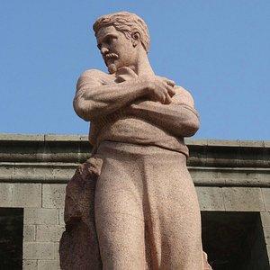 Stepan Shahumyan Statue, Yerevan, Armenia