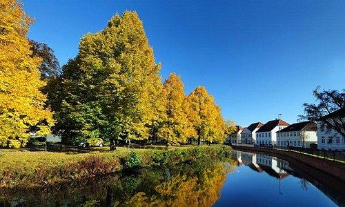 Goldener Oktober an der Mühlenhunte in Oldenburg