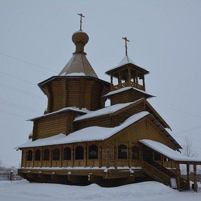 Храм во имя Всех святых в земле Сибирской просиявших