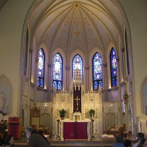 Main altar of Cathedral of Saint Peter