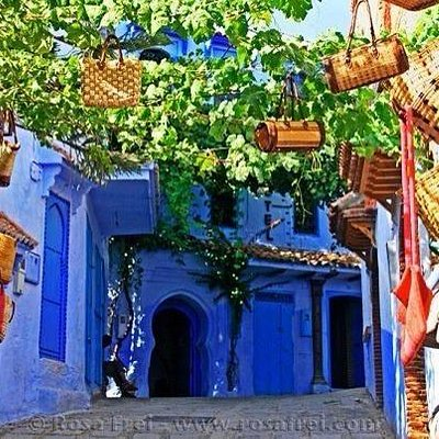 #Chefchawen#the_blue_city_of#Morocco