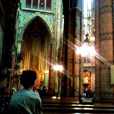 Willibrordkerk tijdens koorconcert