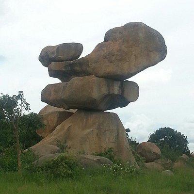 Balancing rocks Harare