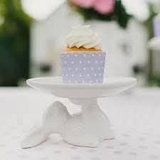 Bunny Cupcake Plate