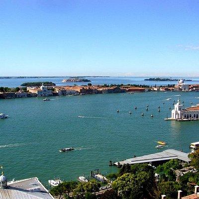 Панорама узкого острова