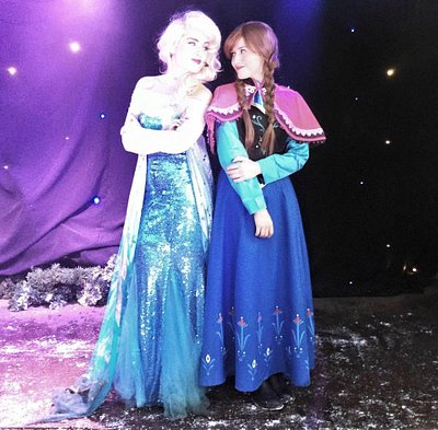 The frozen experience fantastic !!!