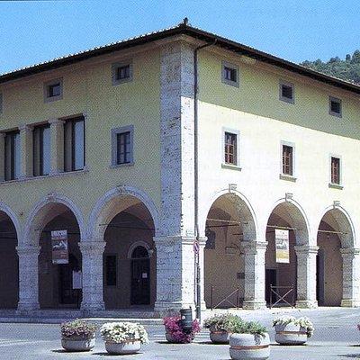 L'Osteria dei Pellegrini a Monsumanno Terme dove ha sede il Museo della Città e del Territorio
