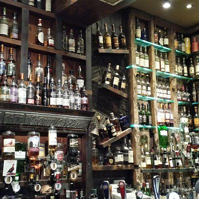 Impressive range of Whisky