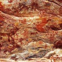 Sítio Arqueológico Pedra Pintada - Cocais (MG), Brasil