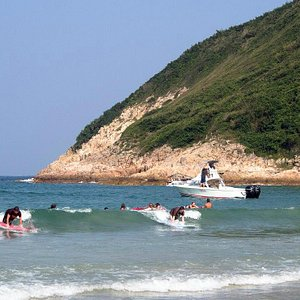 We have 4 local surf beaches where we conduct our surf lessons.