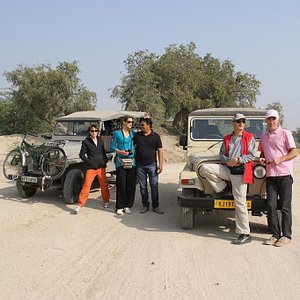 Jeep Drive to Bishnoi Villages.